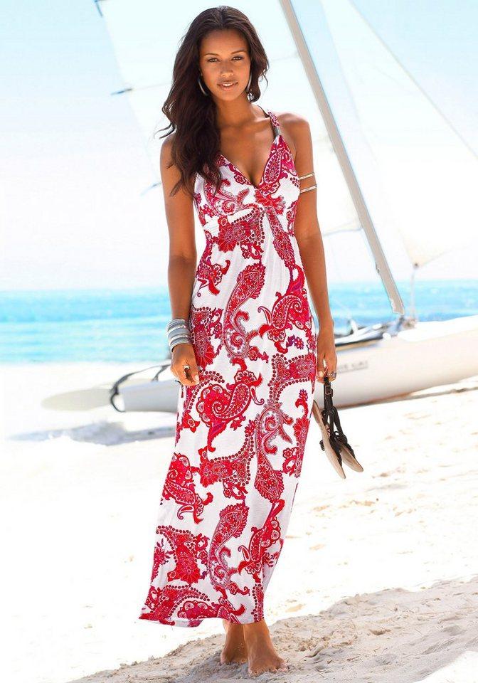 Sommerkleid lang viskose