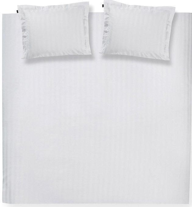 Bettwäsche, Damai, »Streifsatin« in weiß