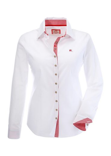 Os-seek Costume Blouse, With Diamonds As Contrast