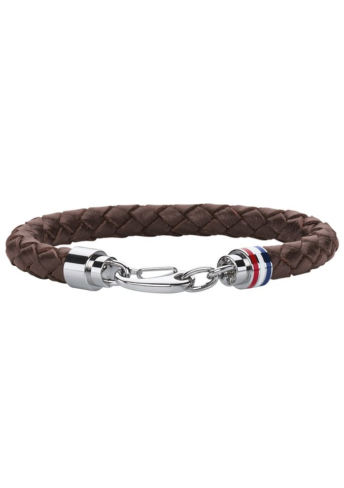 Armband, »Men's Casual, 2700530«, Tommy Hilfiger Jewelry in silberfarben/braun