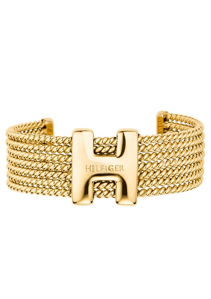 Armspange, »Classic Signature, 2700592«, Tommy Hilfiger Jewelry in goldfarben