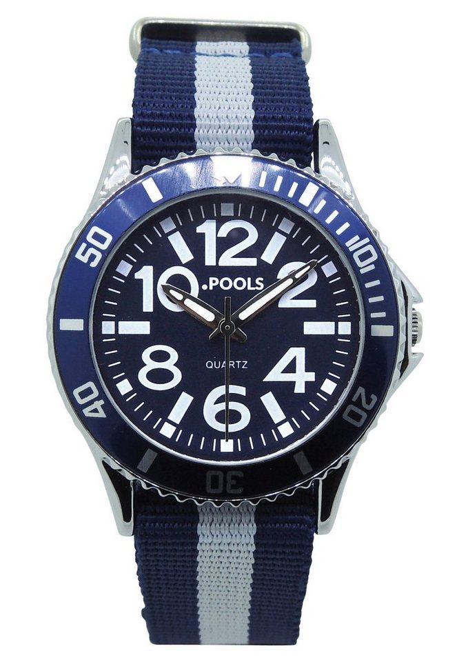 """Pools, Armbanduhr, """"5020"""" in blau"""