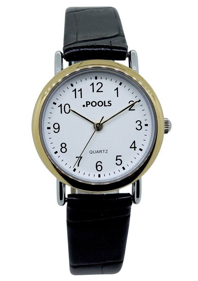 "Pools, Armbanduhr, ""1106"" in schwarz"