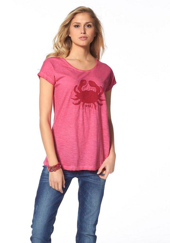 Arqueonautas T-Shirt in pink-meliert