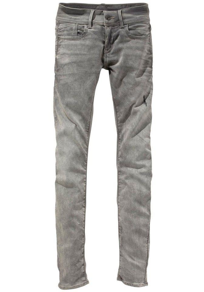 G-Star Röhrenjeans »Lynn Mid Skinny Superstretch« in grey-used