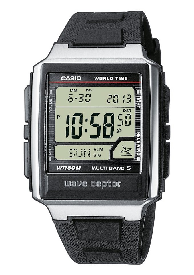 Casio Funk Funkchronograph »WV-59E-1AVEF« in schwarz