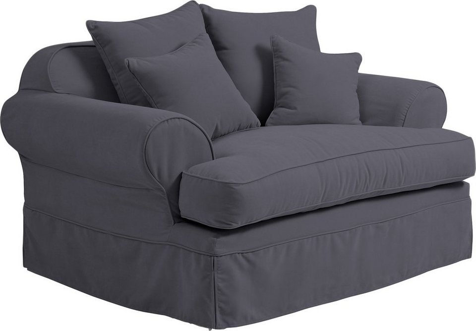 max winzer loveseat mit hussen helene inklusive zier und r ckenkissen online kaufen otto. Black Bedroom Furniture Sets. Home Design Ideas