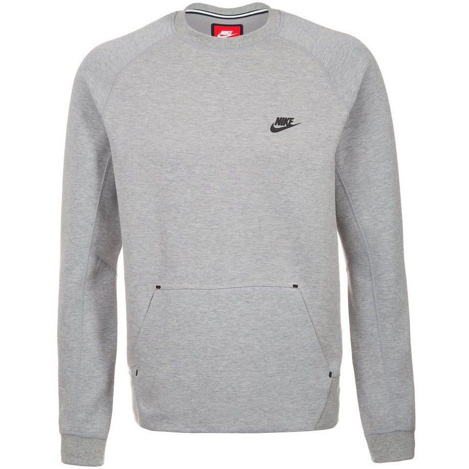 Nike Sportswear Tech Fleece Crew Sweatshirt Herren in dunkelgrau