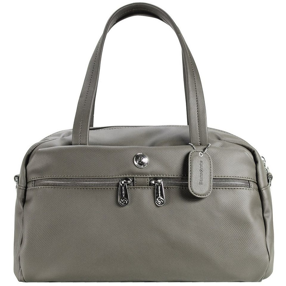 Samsonite Park II Henkeltasche 32 cm in silver colored grey