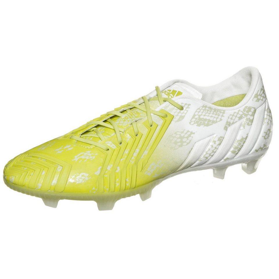 adidas Performance Predator Instinct FG Hunt Fußballschuh Herren in lime / weiß