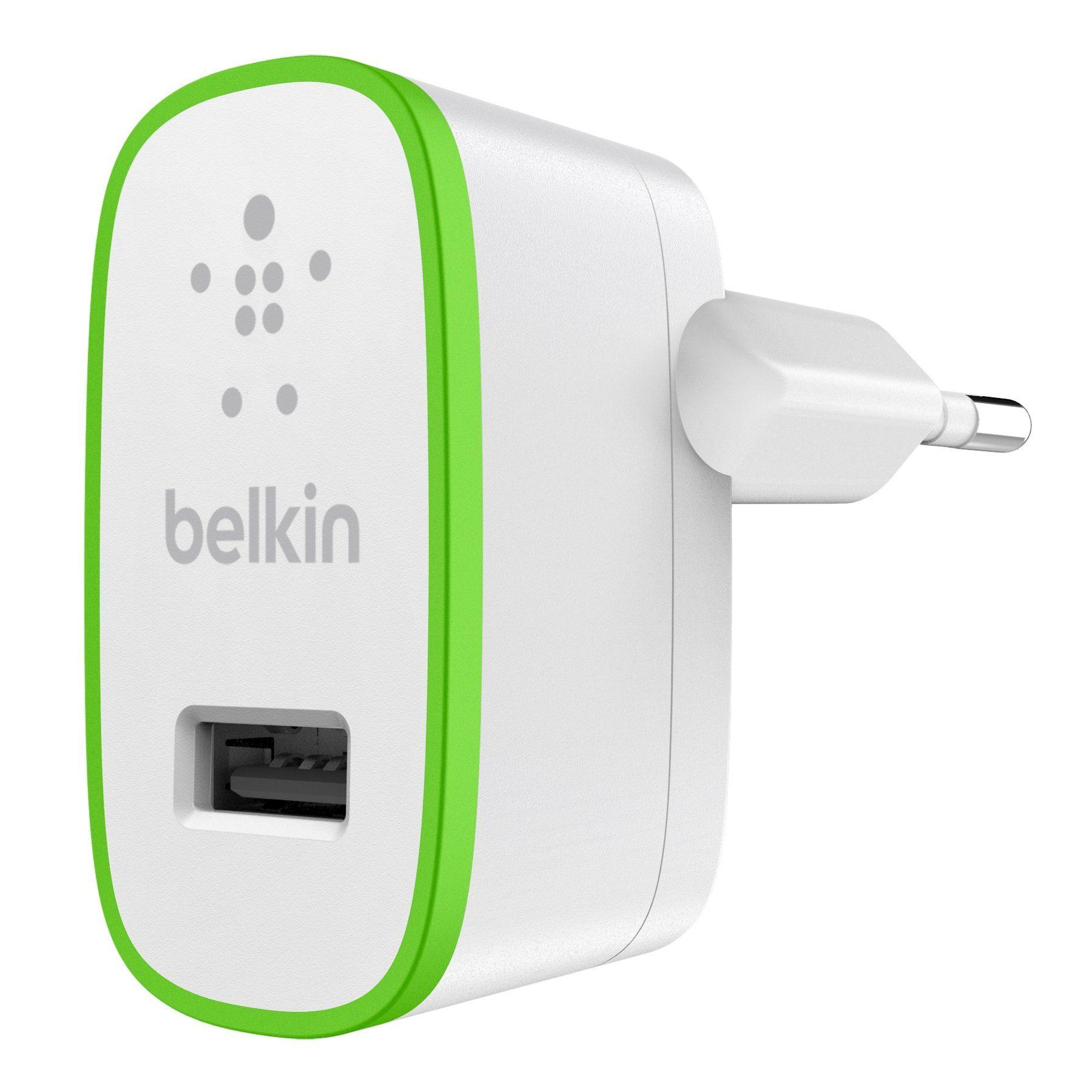 BELKIN Ladegerät & Netzteil »BOOST UP™ Netzladegerät (12 Watt/2,4 A)«