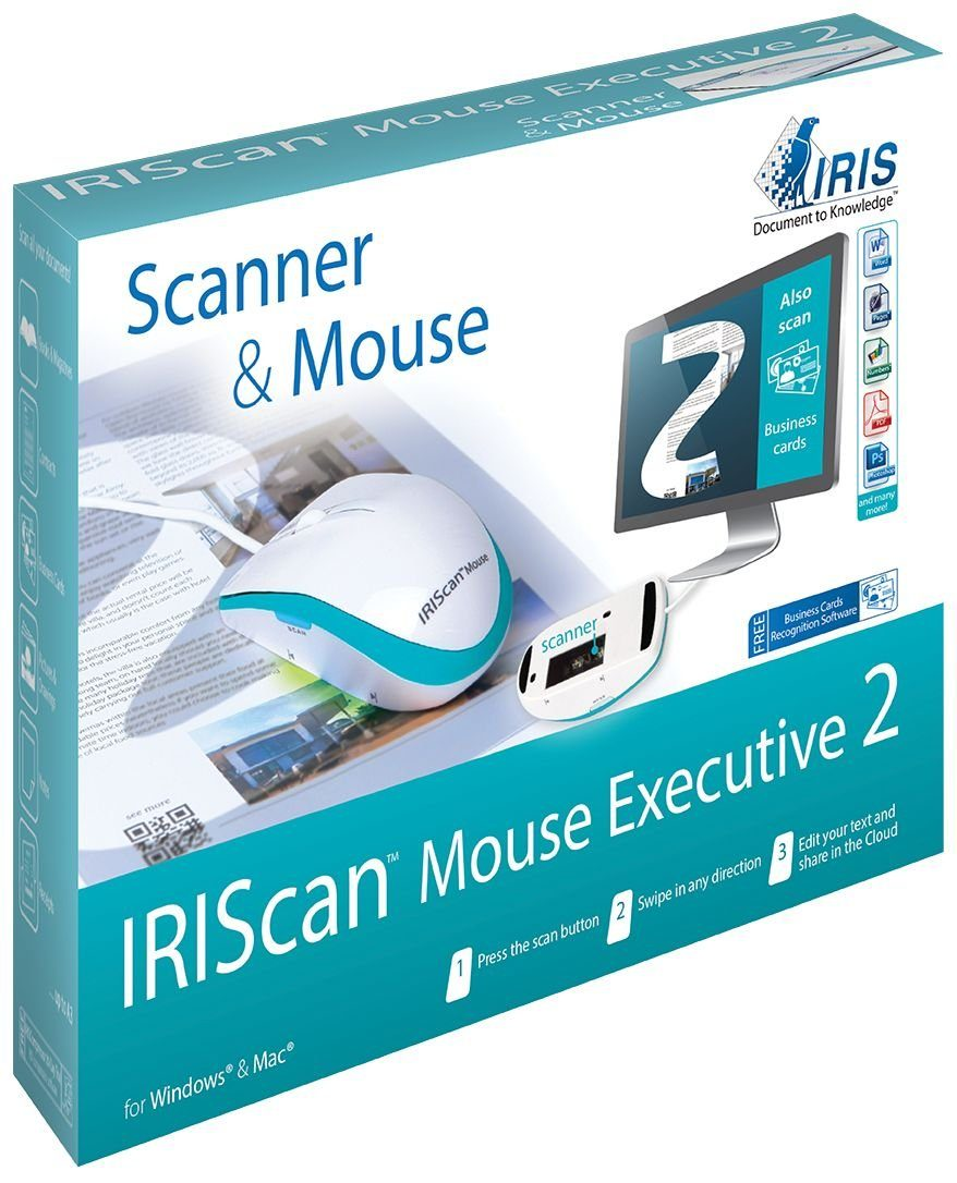 IRIS IRIScan Mouse Executive 2 (458075) »All-in-One-Mausscanner«