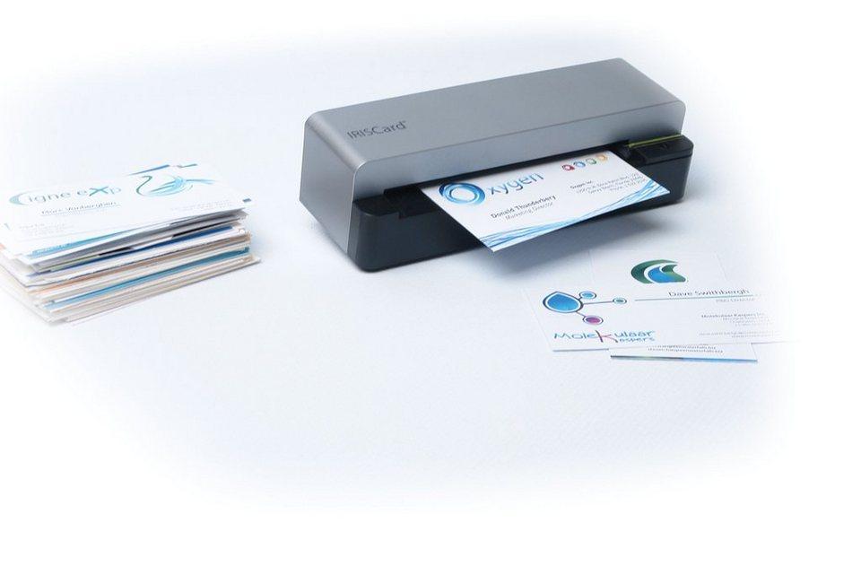 IRIS Mobiler Visitenkartenscanner »IRISCard Corporate 5 (457487)« in silber