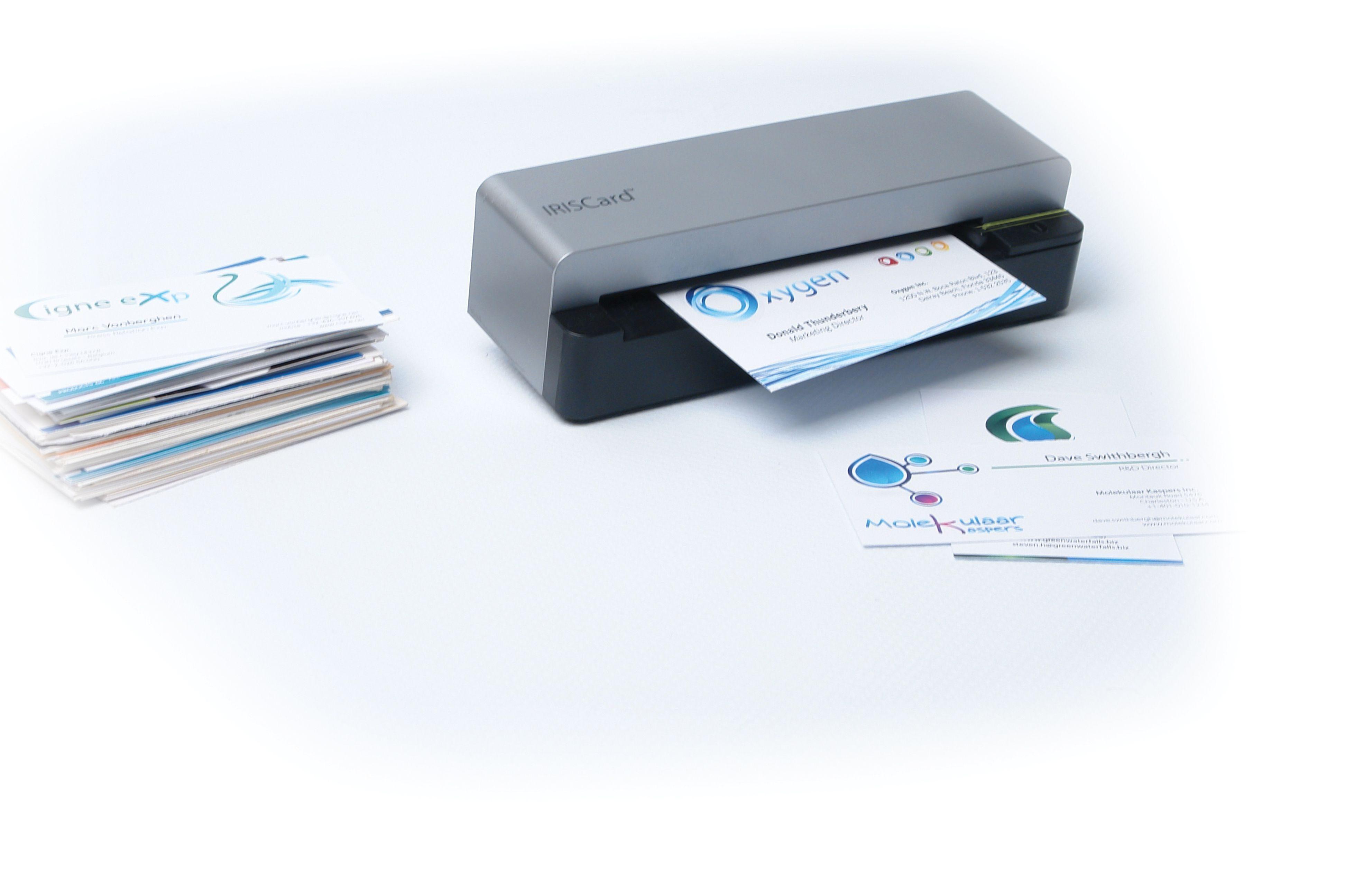 IRIS Mobiler Visitenkartenscanner »IRISCard Corporate 5 (457487)«