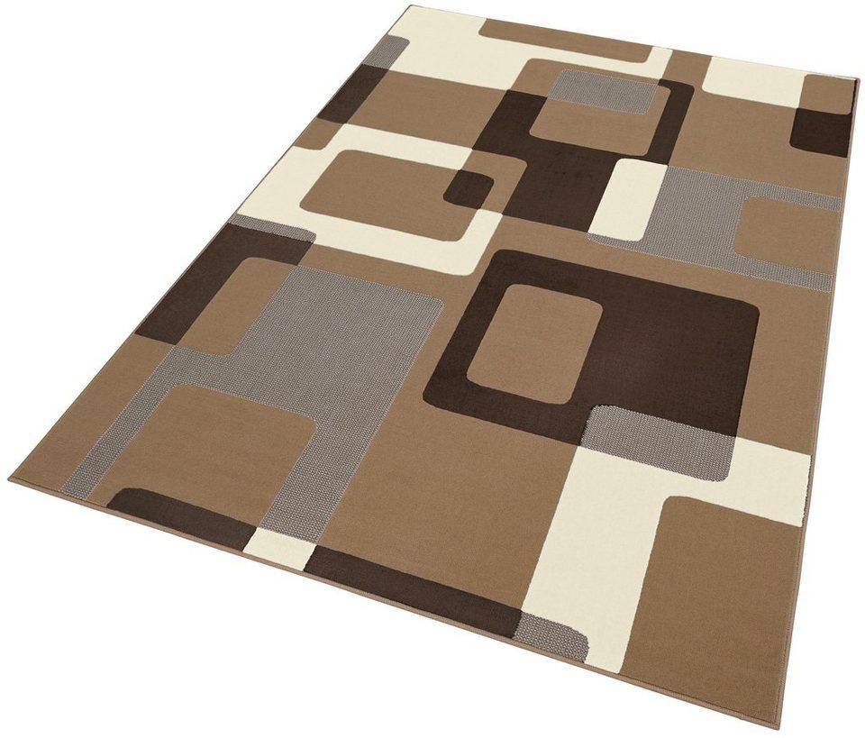 teppich retro hanse home rechteckig h he 9 mm retro design online kaufen otto