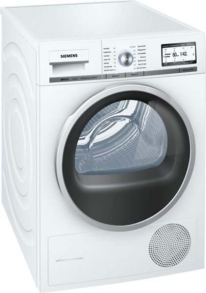 SIEMENS Trockner WT48Y7W3, A+++, 8 kg in weiß