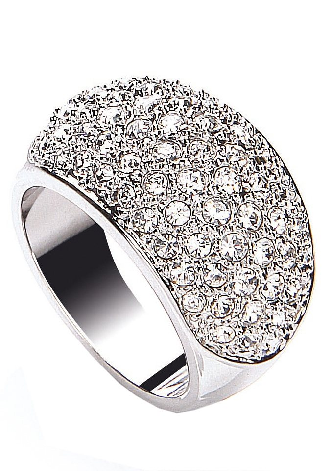 Ring, »Sparkle & Shine«, Buckley London in silberfarben