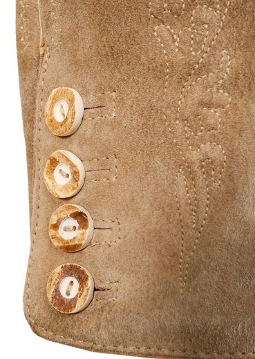 Lederhose, mit traditioneller Stickerei, Marjo