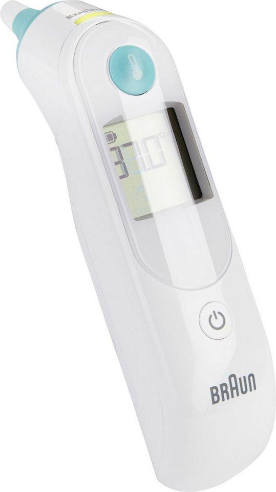 Braun Fieberthermometer ThermoScan 5 IRT6020 in weiss/grün