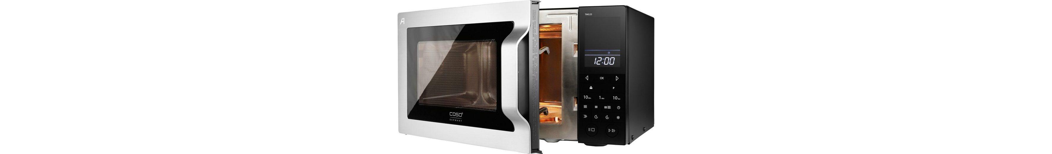 caso Germany Mikrowelle TMG25 menu touch, mit Grill, 25 Liter Garraum, 900 Watt