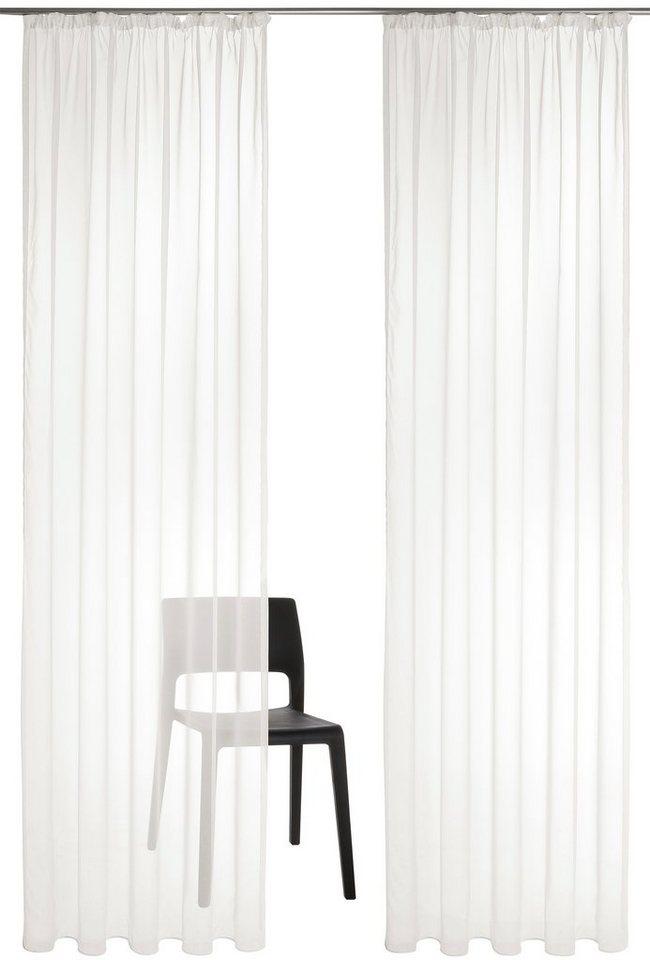 gardine my home xanten mit kr uselband 2 st ck online kaufen otto. Black Bedroom Furniture Sets. Home Design Ideas