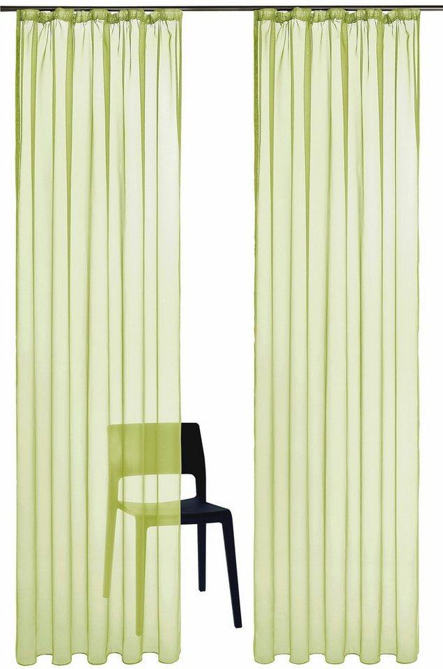 gardine my home xanten mit kr uselband 2 st ck. Black Bedroom Furniture Sets. Home Design Ideas