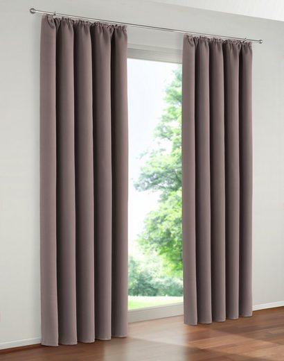 Vorhang »Solana«, my home, Kräuselband (1 Stück), Breite 280 cm