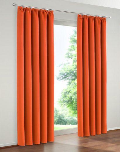 Vorhang »Solana«, my home, Kräuselband (2 Stück), Breite 140 cm