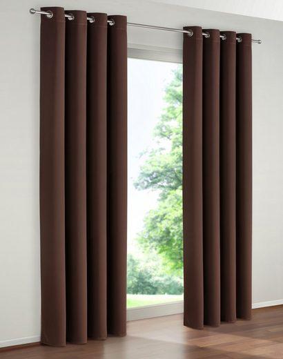 Vorhang »Solana«, my home, Ösen (1 Stück), Breite 280 cm