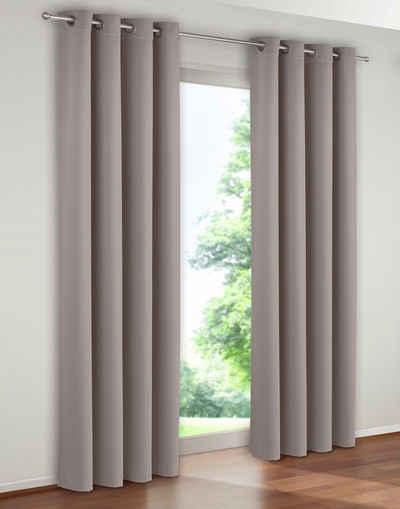 Vorhang »Solana«, My Home, Ösen (1 Stück), Breite 280