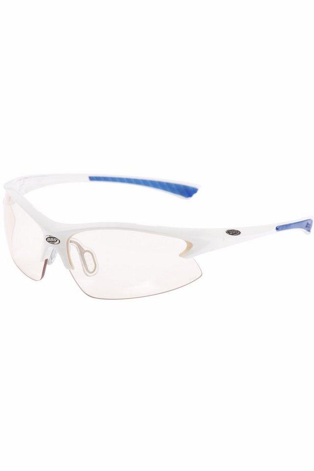 BBB Radsportbrille »Impulse SG-38 PH Sonnenrbille weiß« in weiß