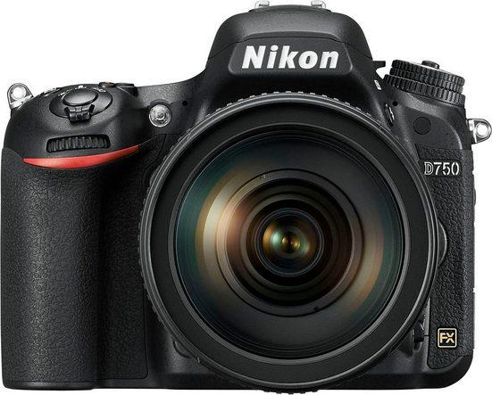 Nikon »D750« Spiegelreflexkamera (Nikkor AF-S, 24,3 MP, WLAN (Wi-Fi)