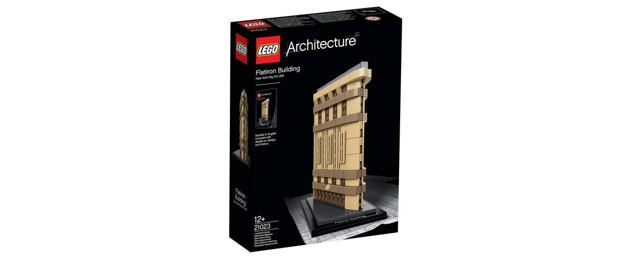 Flatiron Building, (21023), »LEGO® Architecture«, LEGO®