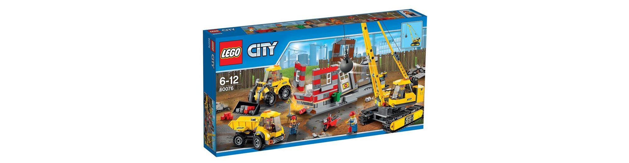Abriss-Baustelle, (60076), »LEGO® City«, LEGO®