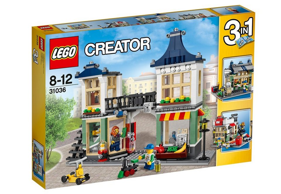 Spielzeug- & Lebensmittelgeschäft, (31036), »LEGO® Creator«, LEGO®