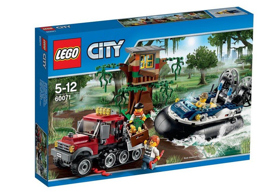 Verbrecherjagd im Luftkissenboot, (60071), »LEGO® City«, LEGO®