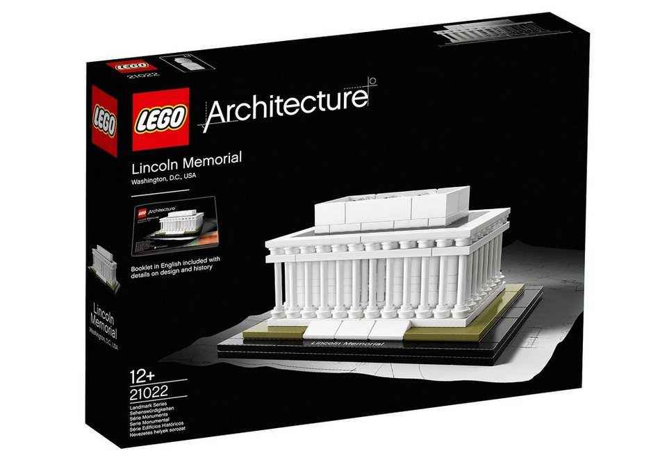 Lincoln Memorial, (21022), »LEGO® Architecture«, LEGO®