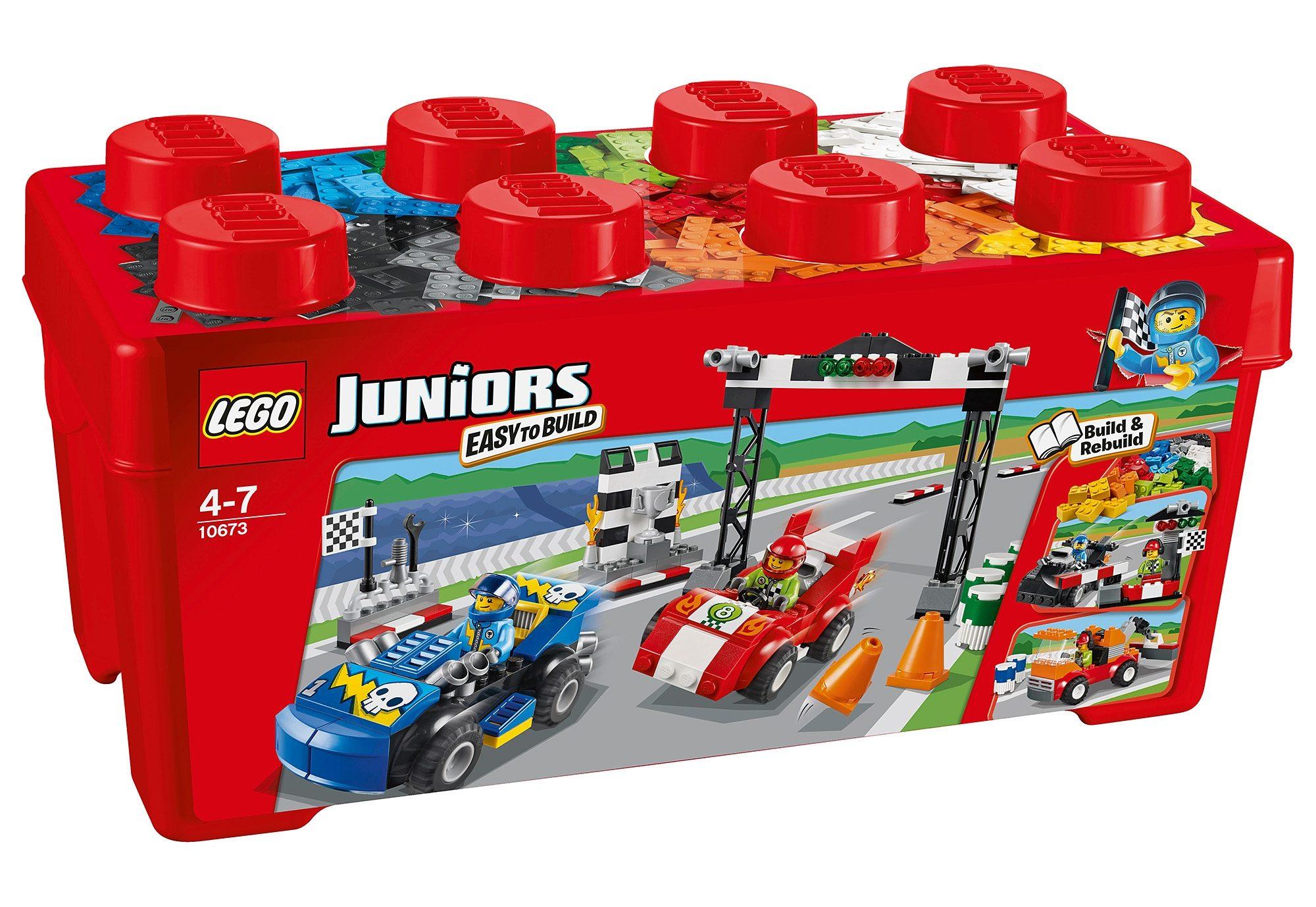 Große Steinebox Ralley (10673), »LEGO® Juniors«, LEGO®