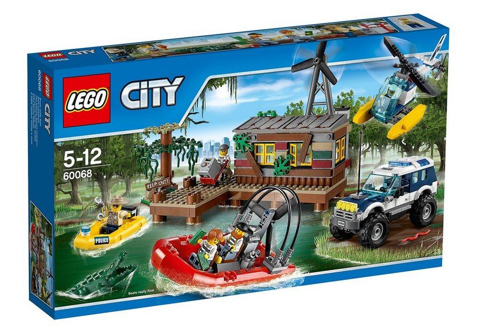Banditenversteck im Sumpf, (60068), »LEGO® City«, LEGO®