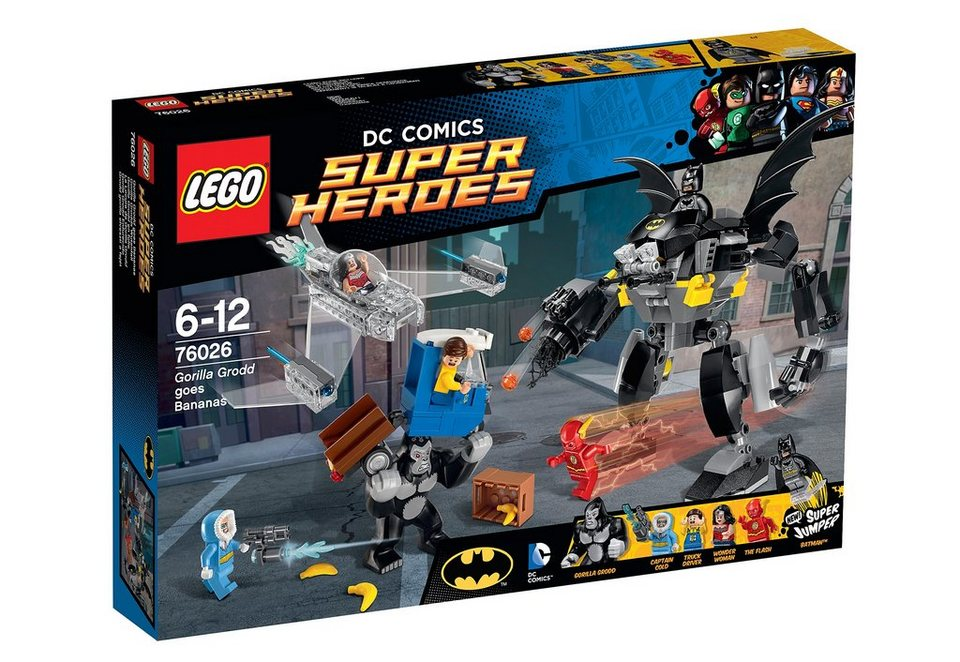 Gorilla Grodds Wutanfall, (76026), »LEGO® Super Heroes«, LEGO®