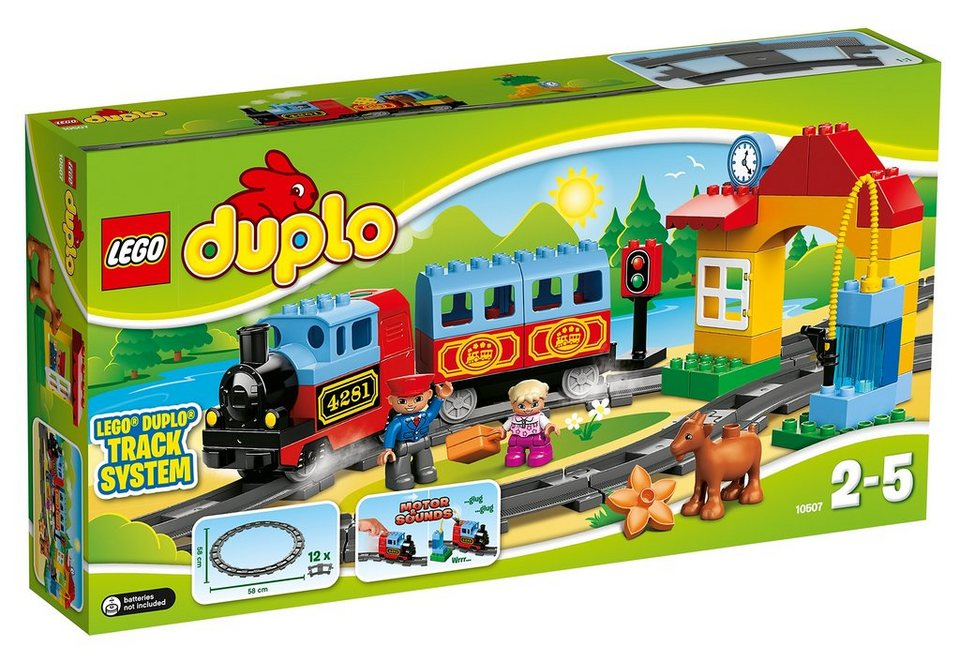 lego eisenbahn starter set 10507 lego duplo online kaufen otto. Black Bedroom Furniture Sets. Home Design Ideas