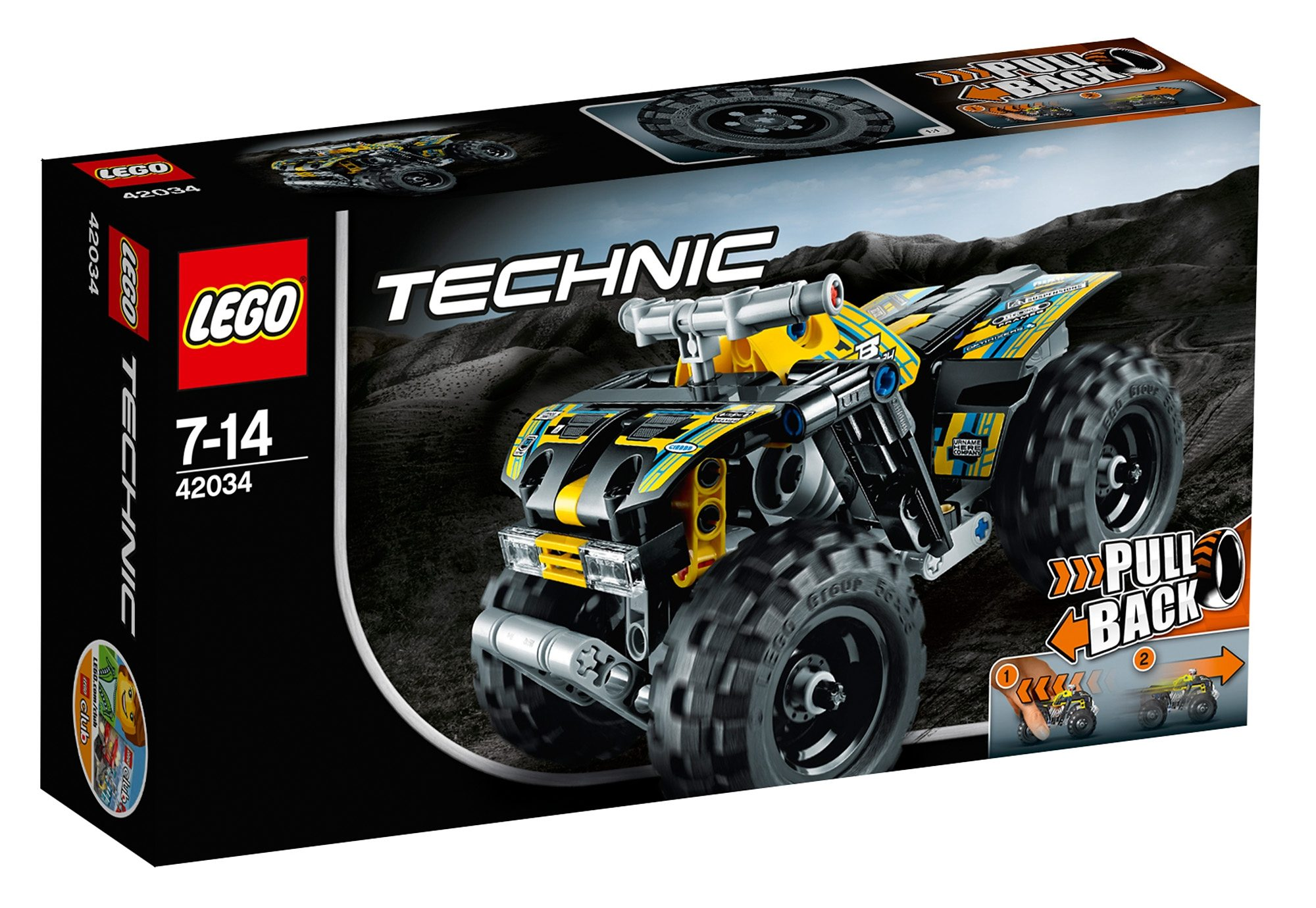 Action Quad, (42034), »LEGO® Technic«, LEGO®