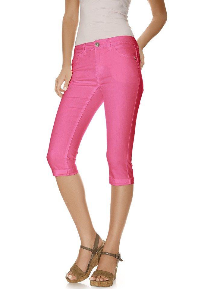 Caprihose in pink