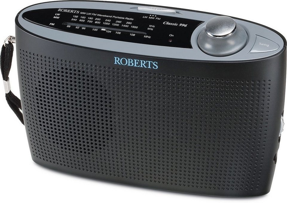 Roberts Radio Analoges Radio »classic 996« in schwarz