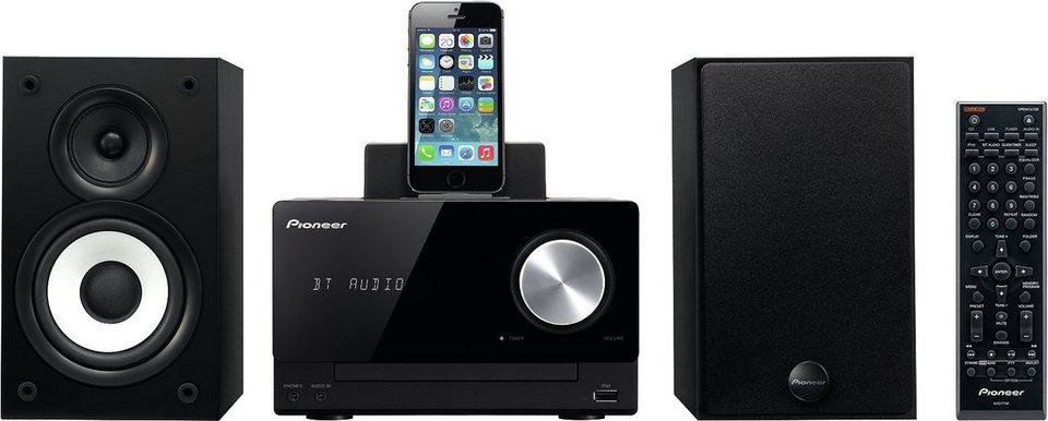 Pioneer X-CM42BT Microanlage, Bluetooth, RDS, 1x USB in schwarz