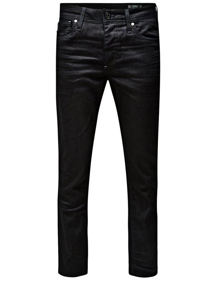 Jack & Jones Clark Original BL 370 Regular fit Jeans in Black Denim