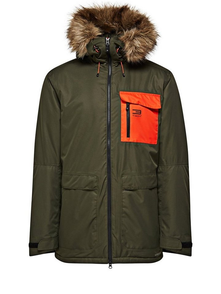 Jack & Jones Funktionell Parka in Forest Night