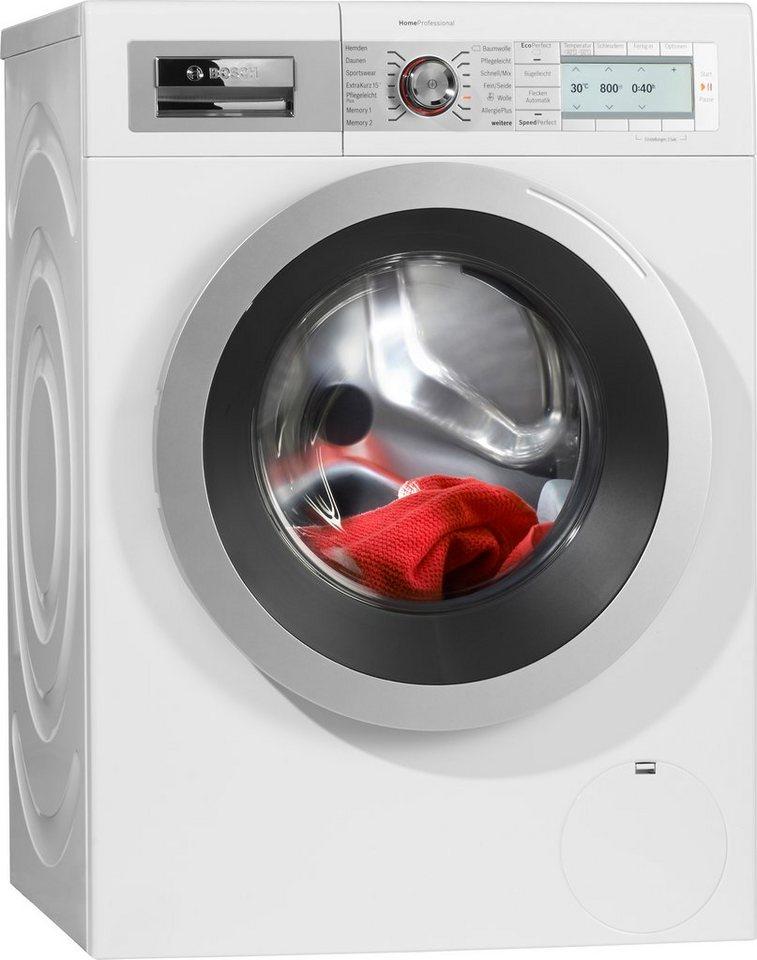 BOSCH Waschmaschine WAY28742, A+++, 8 kg, 1400 U/Min