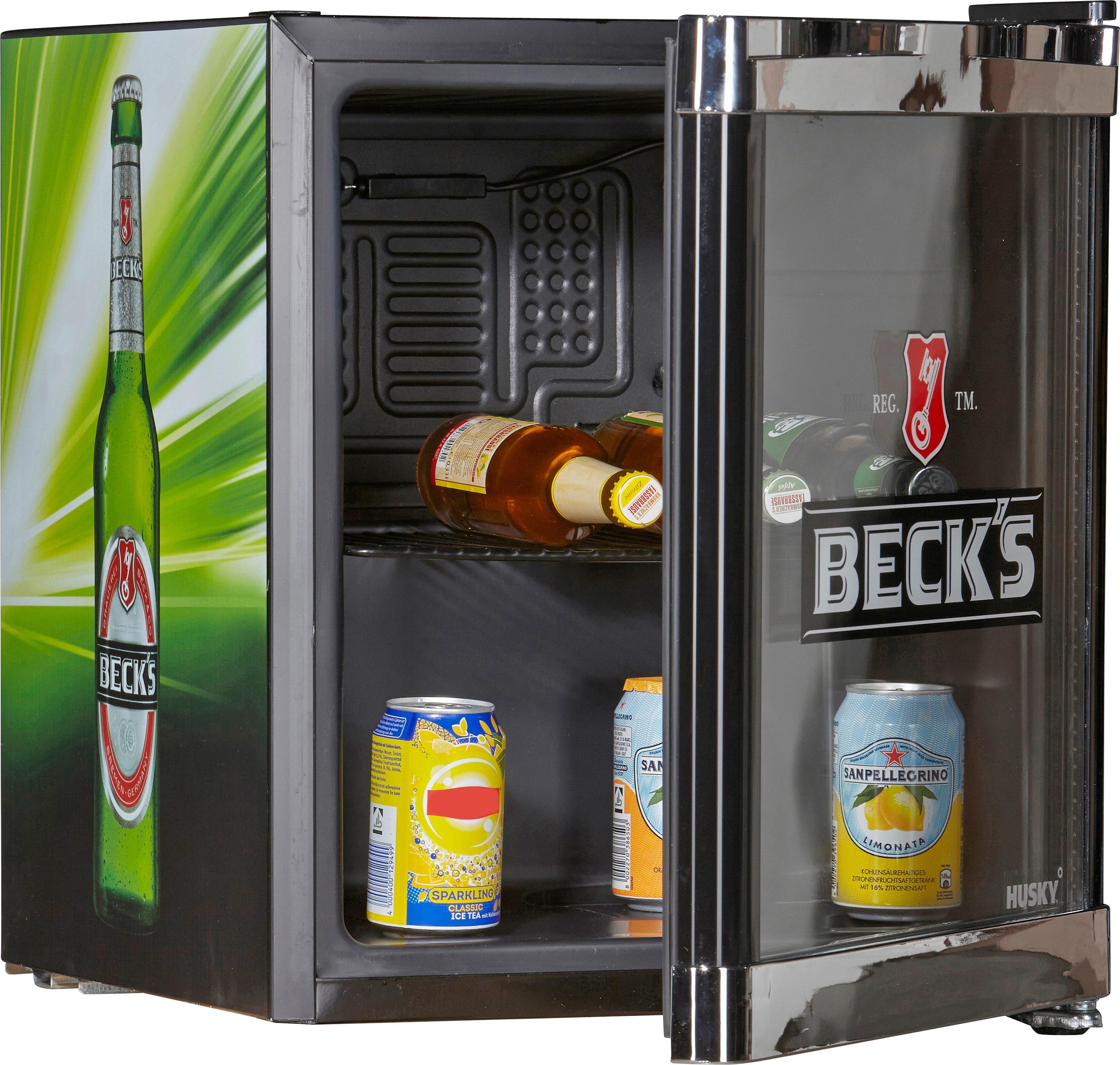 Husky Kühlschrank CoolCube Beck`s, A+, 51 cm hoch