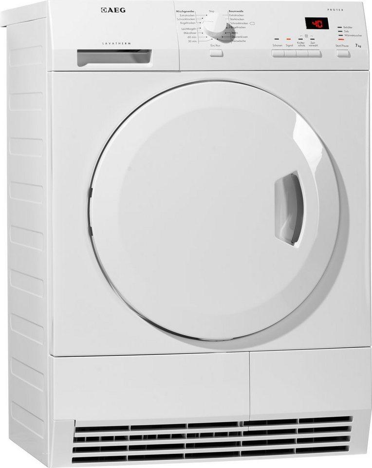 aeg trockner lavatherm t61270ac 7 kg kaufen otto